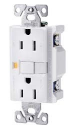 Ground Fault Circuit Interrupter ReceptacleBrown