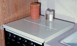 Stove Top Cover White