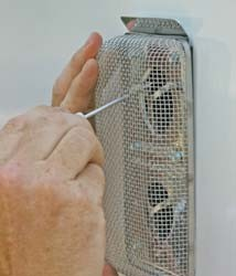 RV Furnace Screen- Flying Insect Screen
