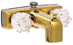 Rv Tub Shower Faucet Diverter 4 Polished Brass