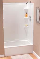 Lyons Rv Tub Shower Surround 36 X 24 X 62 Parchment