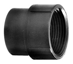"Adapter 1-1/2"", FPT x Slip - ABS"