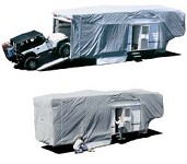 5th Wheel AquaShed RV Cover 25ft 7 inch to 28ft
