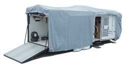 Toy Hauler Cover SFS AquaShed 24ft 1 inch to 28ft
