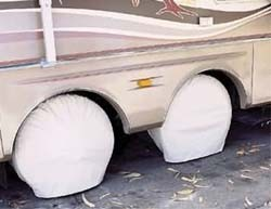 Ultra Tyre Gard, Colonial White, Size Bus