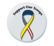 Support Our Troops Spare Tire Cover, Size C