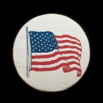 American Flag Spare Tire Cover, Size C