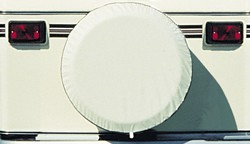 Spare Tire Cover, Colonial White, Size S