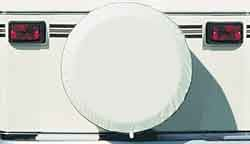 Spare Tire Cover, Polar White, Size L