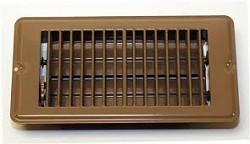 Floor Register 4 X 8 Brown