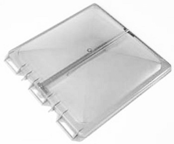 RV Replacement Vent Lid, Jensen, New Style, 1995-2007, White