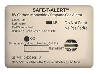 Mini Dual LP/CO Alarm White