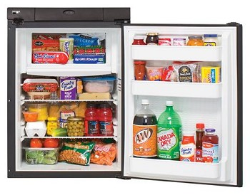 Refrigerator / Freezer Single Compartment Refrigerator With Freezer Right Hand Hinge 2.7 Cubic Foot