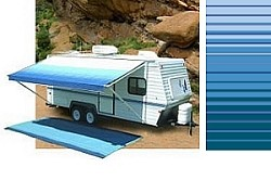 Carefree Rv Awning Replacement Fabric 15ft Ocean Blue