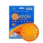 Walex Air Freshener Ovation Orange Disc, Citrus, Hangable