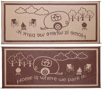 Ming S Mark Home Is Where We Park It 8x18 Rug