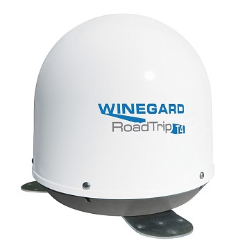 Winegard RT2000T RoadTrip T4 In-Motion RV Satellite Antenna White Dome