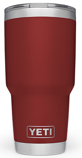 5d48c5bfd7a YETI Brick Red 30 Oz Rambler With MagSlider Lid -21071300098