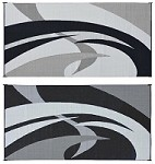 Ming's Mark Reversible Black/Silver Mat 8'x20' GC1