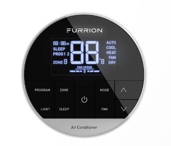 Furrion Chill Multi Zone Wall Thermostat - Black
