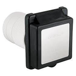 Standard 50A Inlet, Black Housing