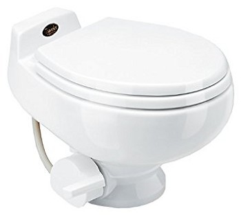 Dometic Sealand Traveler 511HS Low Profile With Hand Spray RV Toilet White