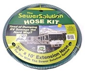 RV Sewer Hose Extension-For Sewer Solutin Pump-10'