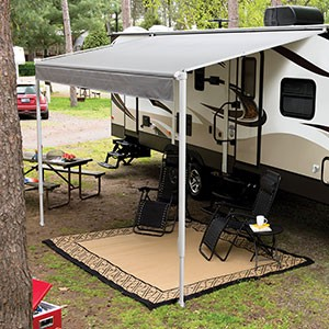 Solera Traditional Manual Spring Roll Up Rv Awning