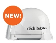 DISH Tailgater White VQ4400 RV Satellite Antenna