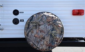 "Game Creek ""OAKS"" Camouflage Tire Cover  Fits  34 Inch Diameter Tires"