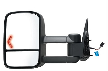 Exterior Towing Mirror Left Hand Side, Black