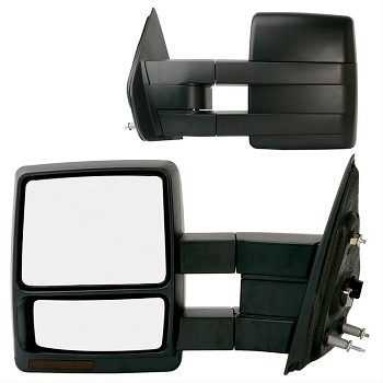 Electric Tow Mirror, Left Side Turn Signal Indicator