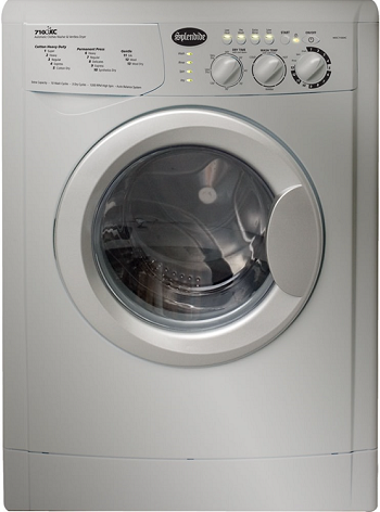 Splendide WDC7100XC Washer-Dryer Combo Ventless Extra Capacity Platinum