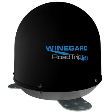 Winegard RT2035T RoadTrip T4 In-Motion RV Satellite Antenna Black